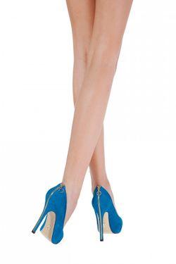 Туфли На Каблуке Janiko                                                                                                              синий цвет