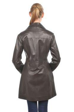 Кожаная Куртка Arturo                                                                                                              коричневый цвет
