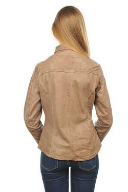 Кожаная Куртка Arturo                                                                                                              бежевый цвет