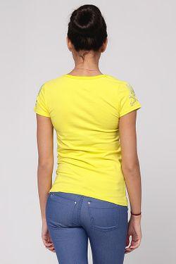 Футболка Isabel Queen                                                                                                              желтый цвет