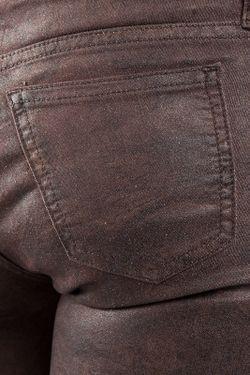 Джинсы 75 Faubourg                                                                                                              коричневый цвет