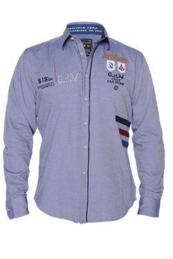 Рубашка Giorgio Di Mare                                                                                                              синий цвет