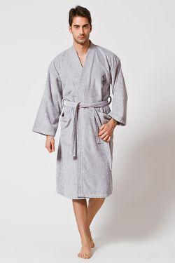 Халат U.S. Polo Assn.                                                                                                              серый цвет