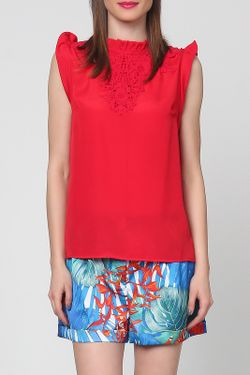 Блузка Grazia                                                                                                              красный цвет