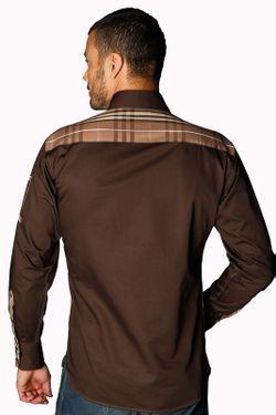 Рубашка Gazoil                                                                                                              коричневый цвет