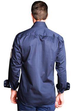 Рубашка Gazoil                                                                                                              синий цвет