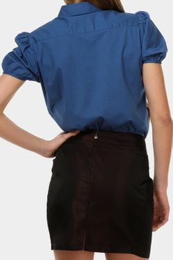 Блузка Just Cavalli                                                                                                              синий цвет