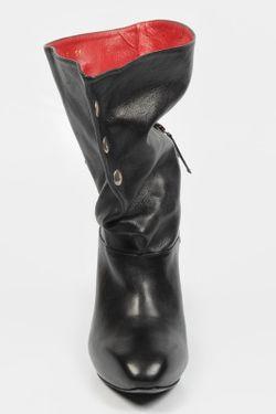 Ботильоны Alexander McQueen                                                                                                              черный цвет