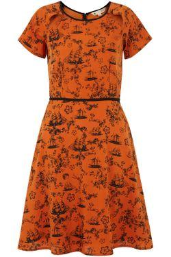 Платье Yumi                                                                                                              оранжевый цвет