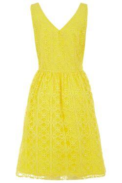 Платье Uttam Boutique                                                                                                              желтый цвет