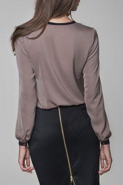 Блузка MISEBLA                                                                                                              коричневый цвет