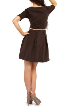 Платье Moe                                                                                                              коричневый цвет