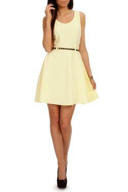 Платье Moe                                                                                                              желтый цвет