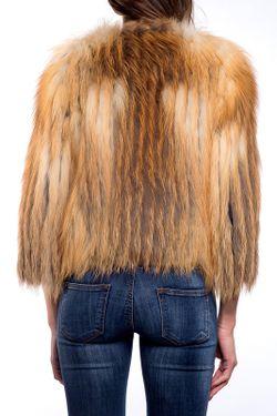 Полушубок John & Yoko                                                                                                              коричневый цвет