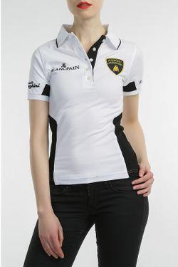 Рубашка-Поло Automobili Lamborghini                                                                                                              белый цвет