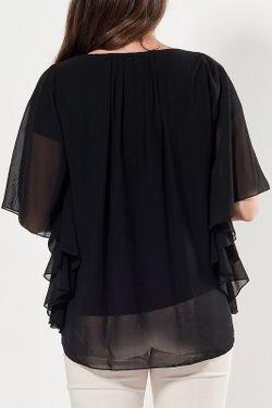 Блуза Ironi                                                                                                              черный цвет