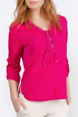 Блуза Ironi                                                                                                              розовый цвет