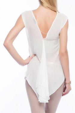 Блуза Ironi                                                                                                              белый цвет
