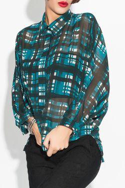 Рубашка Ironi                                                                                                              зелёный цвет