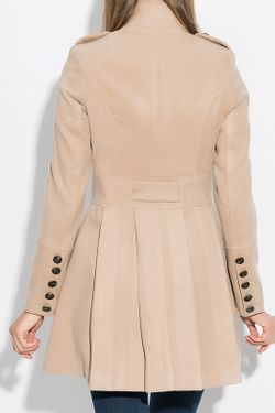 Пальто Ironi                                                                                                              бежевый цвет
