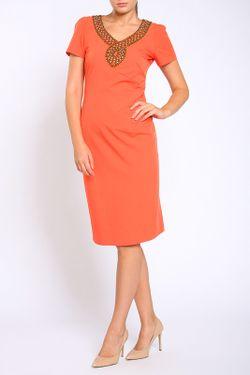 Платье Collezione Di Ines                                                                                                              оранжевый цвет