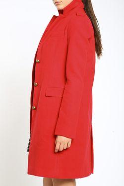 Пальто Collezione Di Ines                                                                                                              красный цвет