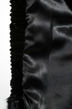 Полушубок Baya                                                                                                              чёрный цвет