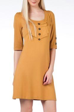 Платье Duse                                                                                                              желтый цвет