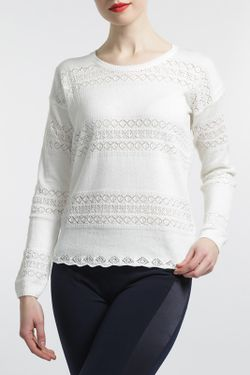 Джемпер MBYMAIOCCI                                                                                                              белый цвет
