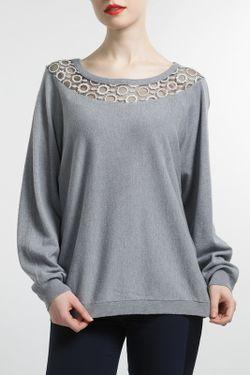 Блуза MBYMAIOCCI                                                                                                              серый цвет