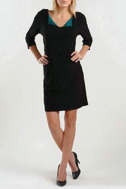 Платье ALEKSANDRO ROSSI                                                                                                              чёрный цвет