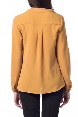 Блуза UNITEKS                                                                                                              желтый цвет