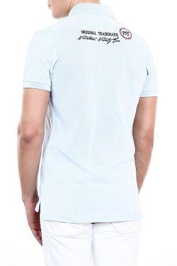 Рубашка-Поло Pontto                                                                                                              синий цвет