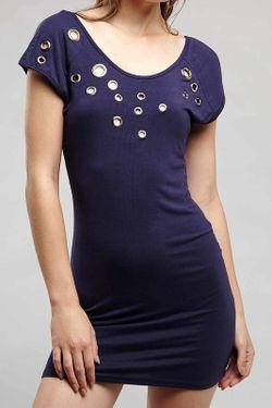 Платье Rare London                                                                                                              синий цвет