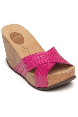 Сабо Uma                                                                                                              розовый цвет
