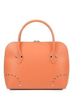Сумка Almini Milano                                                                                                              оранжевый цвет