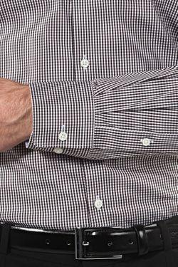 Рубашка Vincenzo Boretti                                                                                                              коричневый цвет