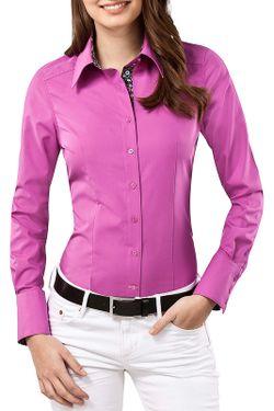Рубашка Vincenzo Boretti                                                                                                              фиолетовый цвет