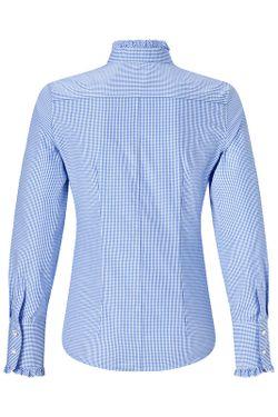 Рубашка Vincenzo Boretti                                                                                                              синий цвет