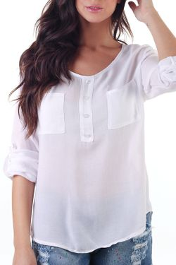 Блуза Pepita Perez                                                                                                              белый цвет