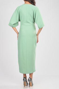 Платье CARLA BY ROZARANCIO                                                                                                              зелёный цвет