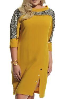 Платье Ludomara fashion                                                                                                              желтый цвет
