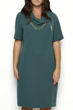 Платье Ludomara fashion                                                                                                              зелёный цвет