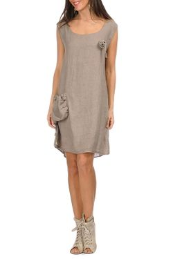 Платье Un Coeur En Ete                                                                                                              коричневый цвет