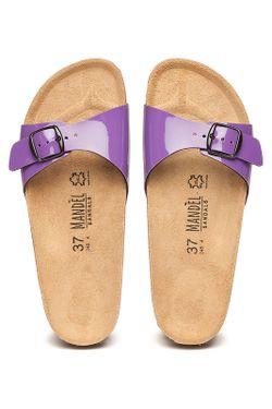 Шлёпанцы Mandel                                                                                                              фиолетовый цвет