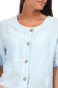 Рубашка Couleur lin                                                                                                              синий цвет