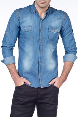 Рубашка Saint Laurent                                                                                                              None цвет