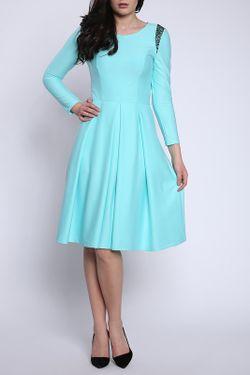 Платье Collezione Di Ines                                                                                                              голубой цвет