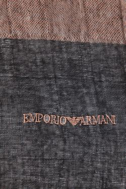 Шарф Emporio Armani                                                                                                              коричневый цвет