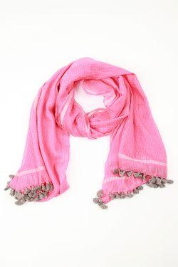 Шарф Emporio Armani                                                                                                              розовый цвет